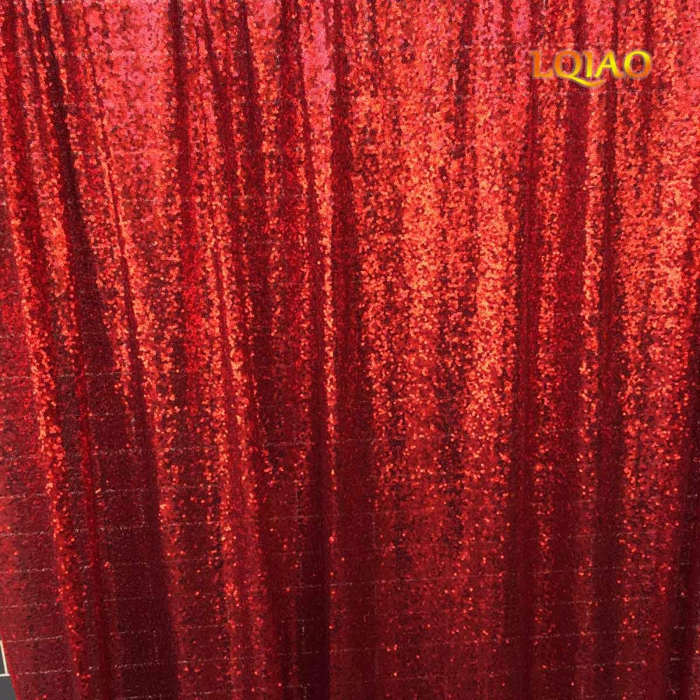 Red Sequin Backdrop-004