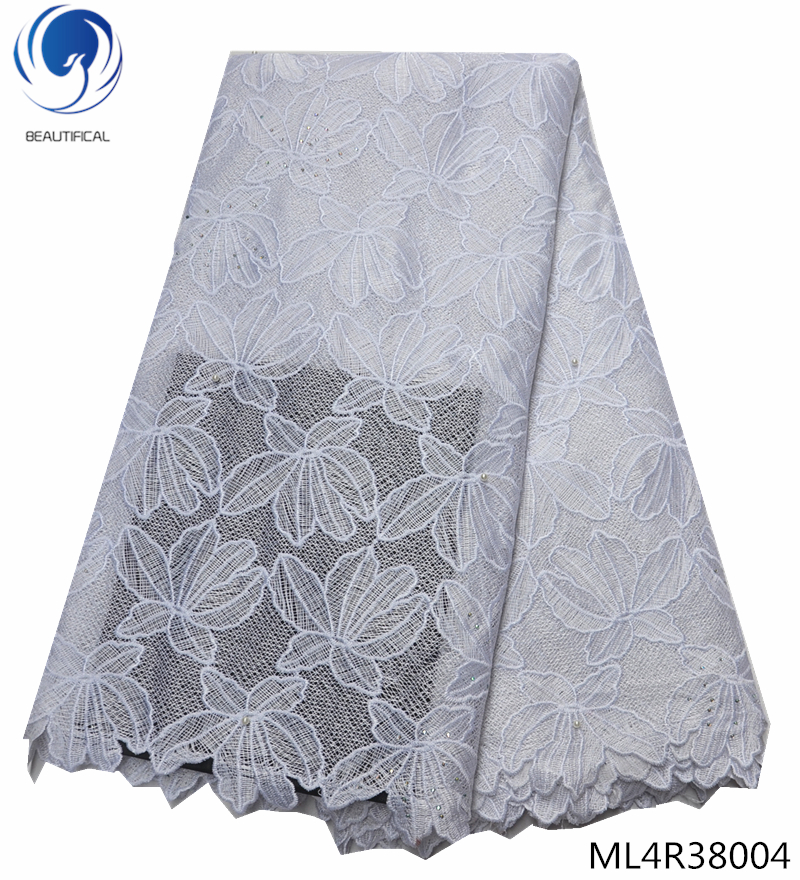 BEAUTIFICAL swiss lace fabric 2019 african voile fabrics with rhinestones swiss lace dress for women 5yards ML4R380BEAUTIFICAL swiss lace fabric 2019 african voile fabrics with rhinestones swiss lace dress for women 5yards ML4R380