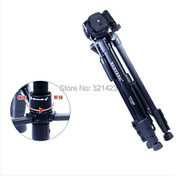 VCT-690 Nuevo equipo fotográfico Yunteng Aluminio trípode flexible - Cámara y foto - foto 5