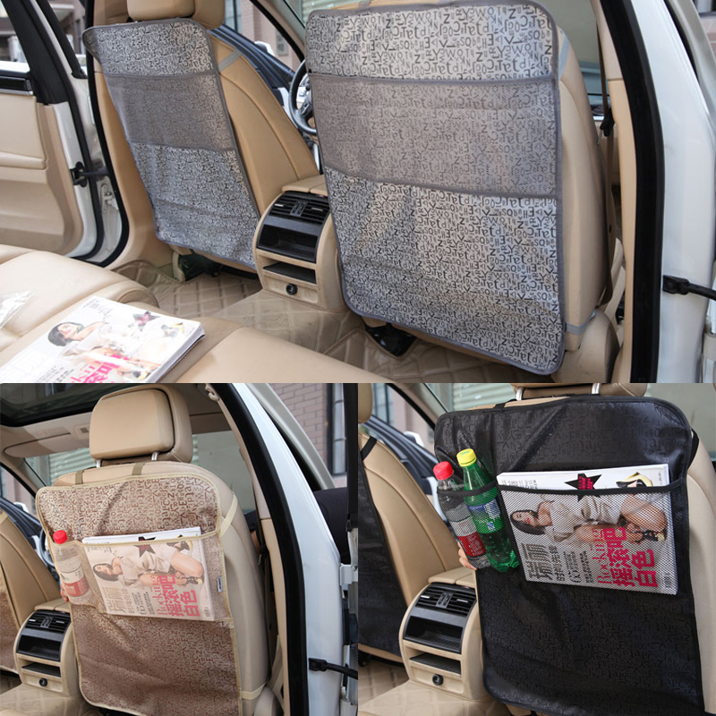 2PC Car Auto Seat Back Protector Cover For Children Kick Mat Mud Clean Apr23 Drop Shipping