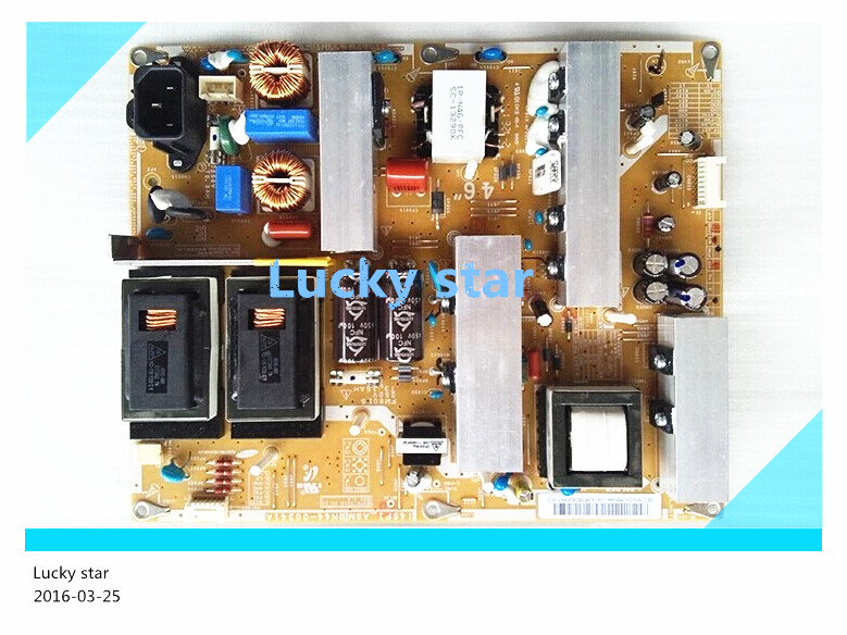 Original used board LA46C550J1F power supply board I46F1-ASM BN44-00341A 42lc7r power supply plhl t604a eay34797001 eax32268301 2300keg010a f is used