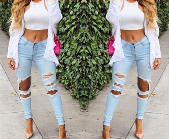 2017 High Waist Plus Size Jeans Women Skinny Pencil Pants Denim Ripped Boyfriend Jeans With Holes For Woman brand new carburetor assy 21100 11190 11212 for toyota 2e auto parts engine high quality warranty 30000 miles