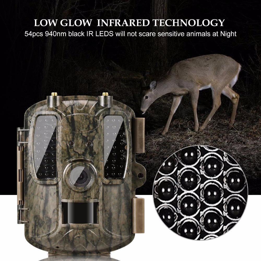 BL480L-P 4G Digital Scouting Infrared Hunting Camera 12MP HD Video MMS GPRS GPS Night Vision Trap Game Wildlife Trail Hunter Cam digital scouting hunting camera h3 detection trail cameras trap wildlife ir infrared led video recorder night vision hunter cam