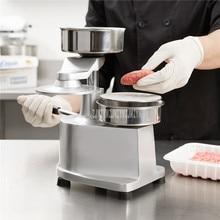 100mm/130mm Manual Hamburger Press Maker Burger Forming Machine Round Meat Shaping Aluminum Machine Forming Burger Patty Makers