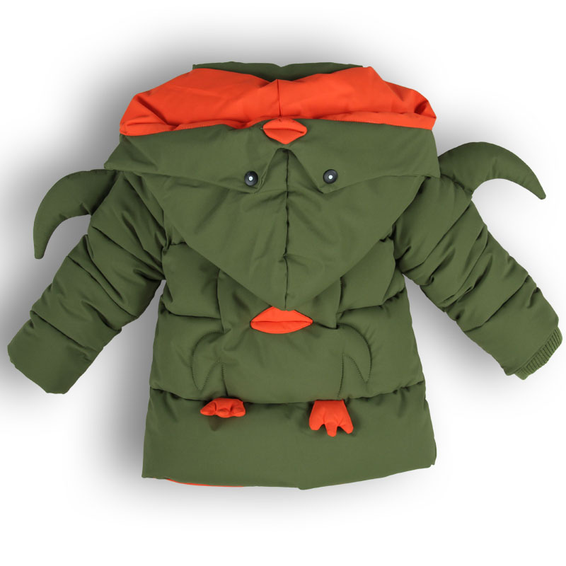 2017 Children's Cotton Padded Jackets Winter Coat Baby Boys Scout's Child Thick Warmcoats Kids Overcoat