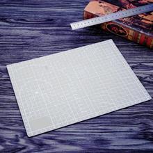 Gray Cutting Mat PVC Self-Healing A4 Office Home Paper Craft DIY Tool Grid Lined Plastic Cutting Board Pad Escolar School Supply