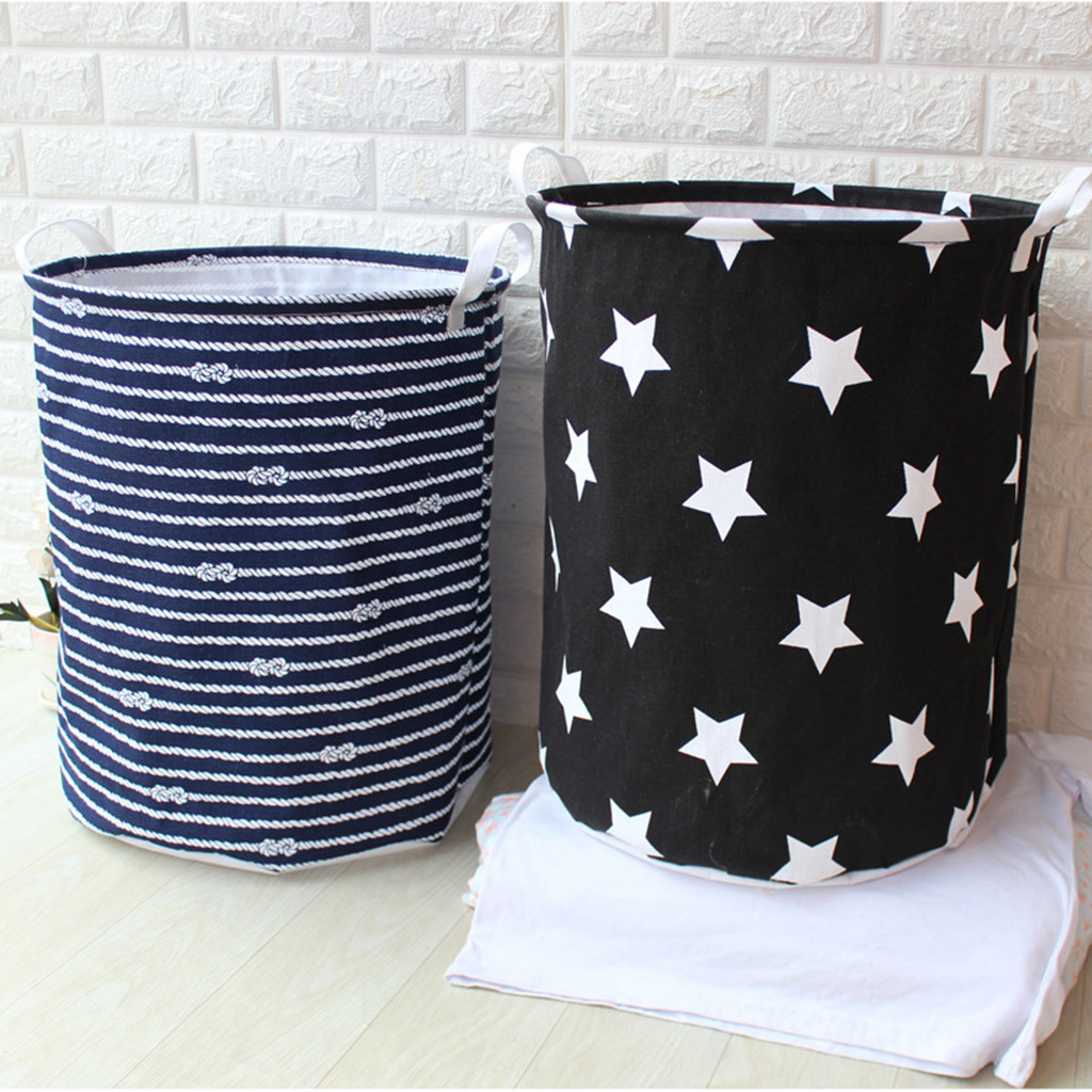 Dropshipping Waterproof Sheets Laundry Clothes Laundry Basket Storage Basket Folding Storage