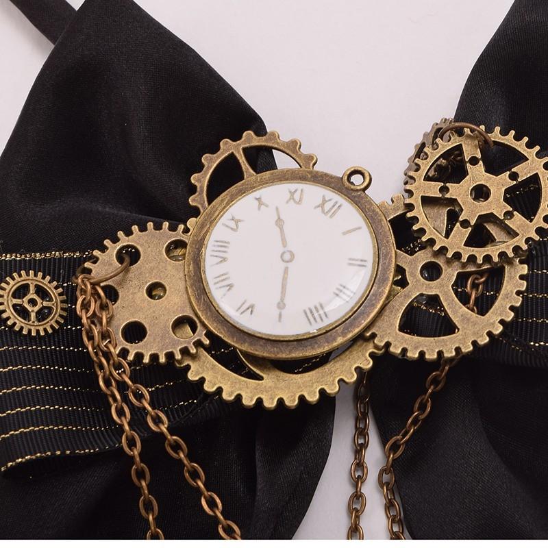 Steampunk Gears Bowknot (4)