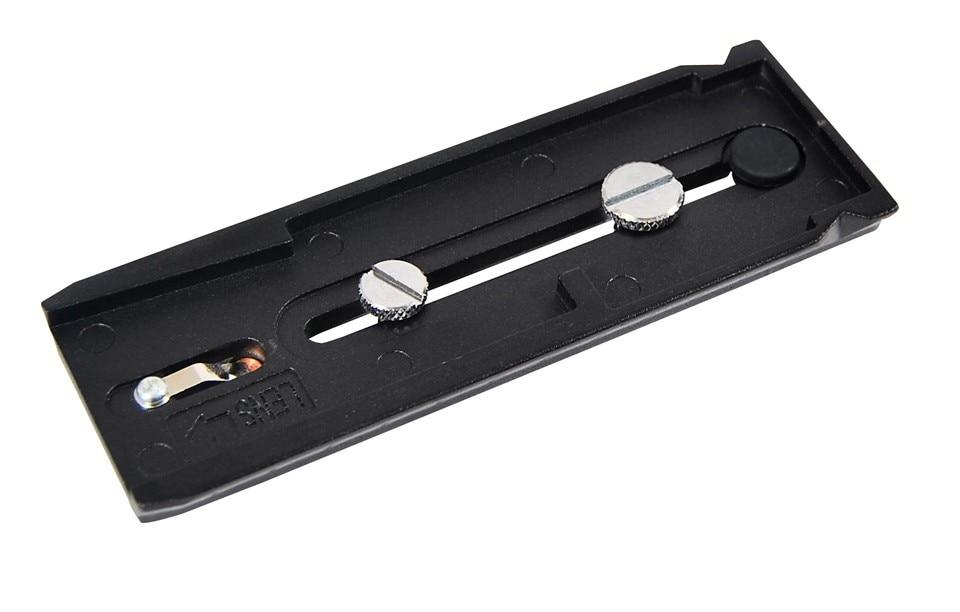 miliboo superior aluminum short quick release plate MYT806 for video camera tripod monopod