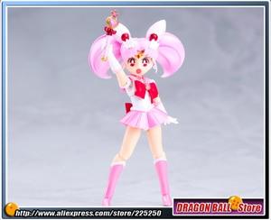 "Image 3 - ""Guardian Sailor די ירח"" מקורי BANDAI Tamashii אומות SHF/ S.H.Figuarts פעולה איור סיילור Chibi ירח"