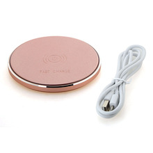 Protable Fast Wireless Charger Qi USB Charging Pad Universal Smartphone Wireless Charger Pad T0.21