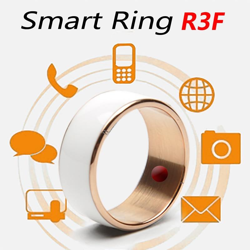 Купить с кэшбэком Original Jackom R3F Fashion NFC Smart Ring Band Bluetooth Cell Phone accessories  Magic jewelry For Android Men's Ring men women