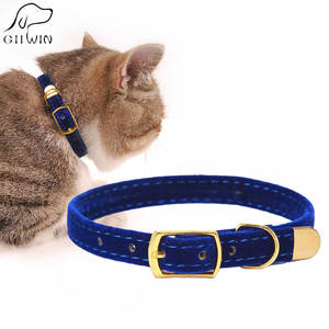 Product Puppies-Collar Pet-Supplies Cat Kitten Adjustable Flocking Dogs for Small YS0032