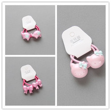 1pcs Colourful Cartoon Animals Elephant Whale Ponytail Holder Giraffe No Damage Bows hair bands for girls elastic Hand