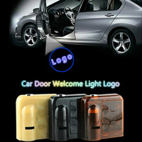 For Renault 2pcs Wireless Car Door Welcome Light Type Lights LED Laser Shadow 3D Projector Lamp