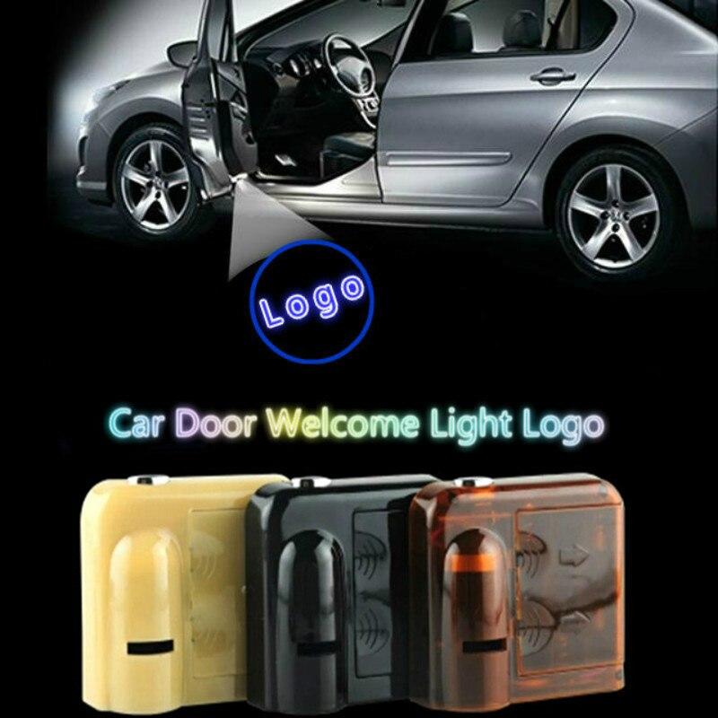 ДЖУРУС для RENAULT 2шт беспроводной Автомобильный дверь Добро пожаловать свет Тип СИД лазера тенью 3D проектор лампы для большинства автомобилей логотип свет
