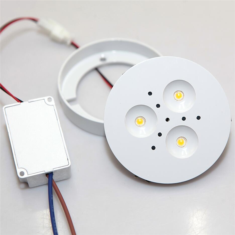 dimmable led under cabinet lighting led puck lights 3000k4000k 5000k kitchen under cabinet - Led Cabinet Lighting
