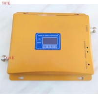 LCD Display Dual Band Signal Booster 900 2100Mhz GSM WCDMA Signal Repeater Booster Amplifier