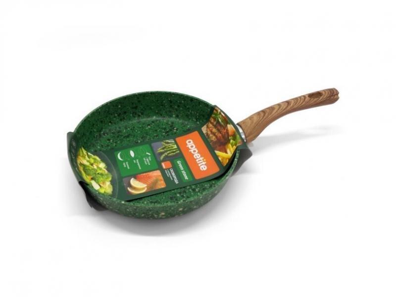 Frying Pan APPETITE, GREEN STONE, 28 cm