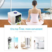 massage Air Cooler Small Air Conditioning Appliances Mini Fans Air Cooling Fan Summer Portable Strong Wind Air Conditioning