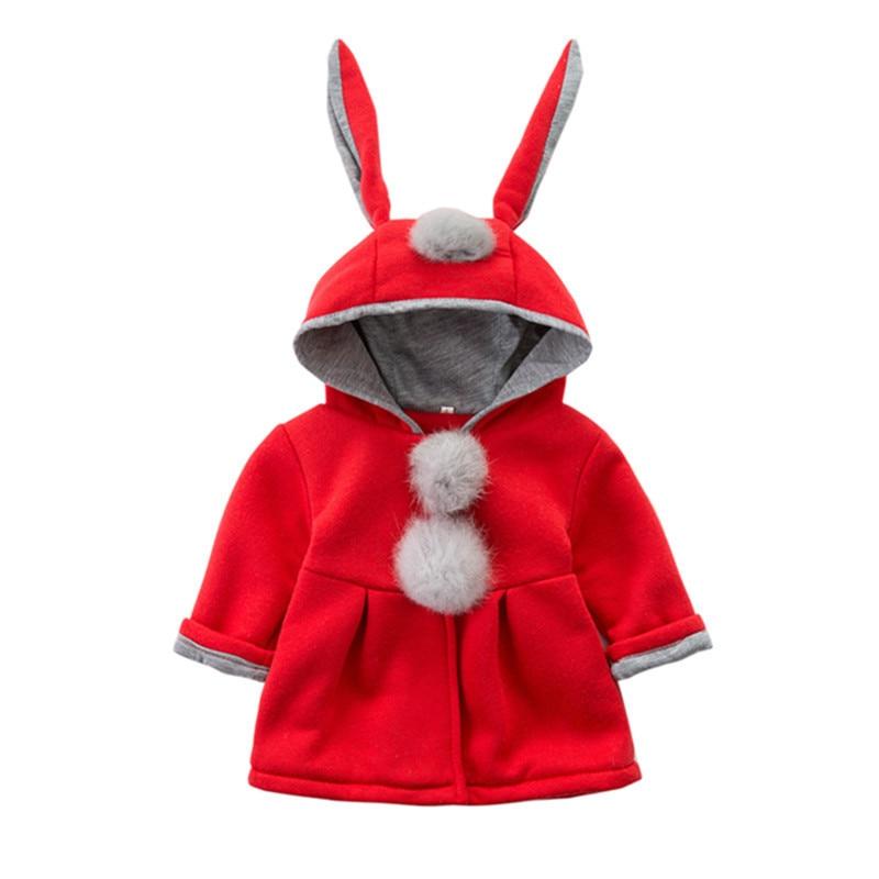 dc9149b7863b Aliexpress.com   Buy New Autumn Winter Warm Kid RED Pink Girls Coats ...