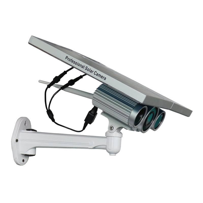 4G FDD LTE solární Powered 1080P Bullet IP kamera s Night Vision Live Image Video Monitoring Nahrávání zdarma Android iOS APP