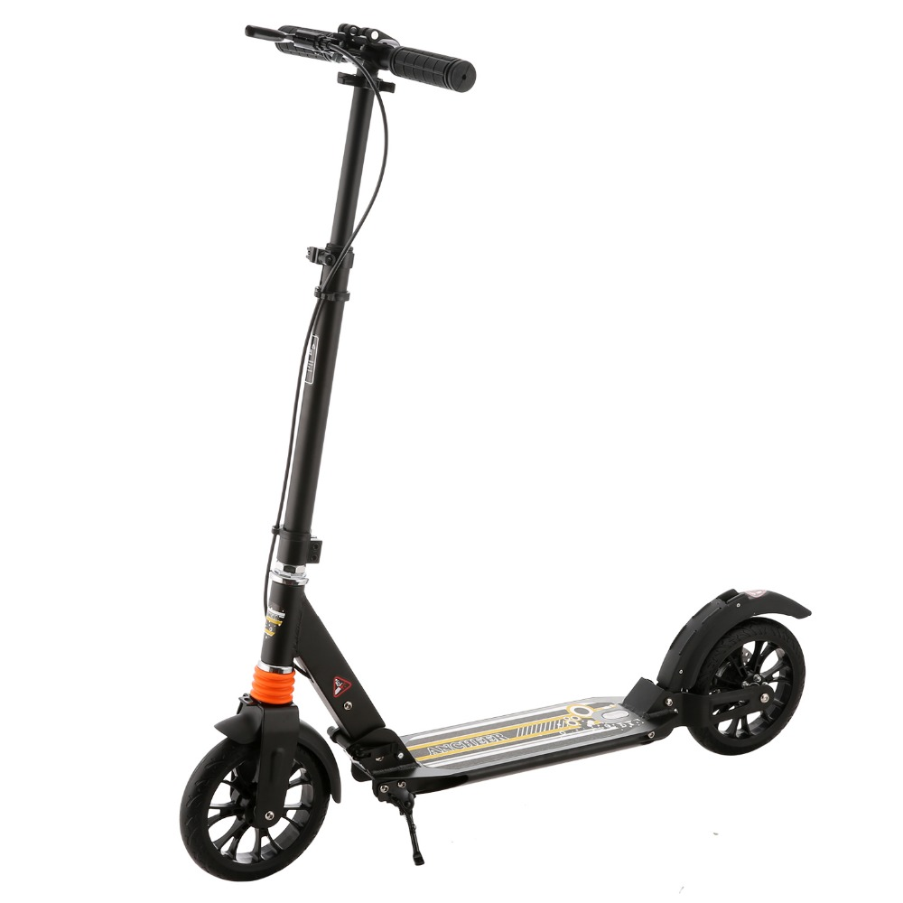Ancheer New Brand Kick Scooter For Adult Adjustable Height Adult Scooter Foldable Trottinette Adulte Patinete Adulto electric scooter fold patinete electrico trottinette electrique adulte adult kick sooter electric city dualtron k4