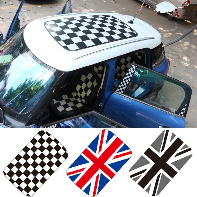 car roof sticker for mini cooper s F54 F55 F56 R56 r55 R56 R60 R61 (mark which type pls) auto accessories