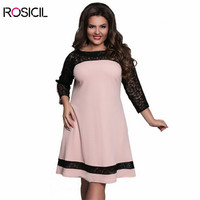 ROSICIL Brand Large Size Womens Clothing Gown Elegant Sexy A Line Party Dress Women Big Large