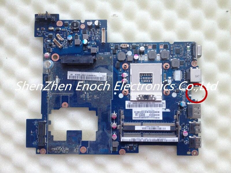 LA-675AP motherboard for Lenovo G570 Laptop main board intel HD express graphic PIWG2 NO HDMI stock No.055