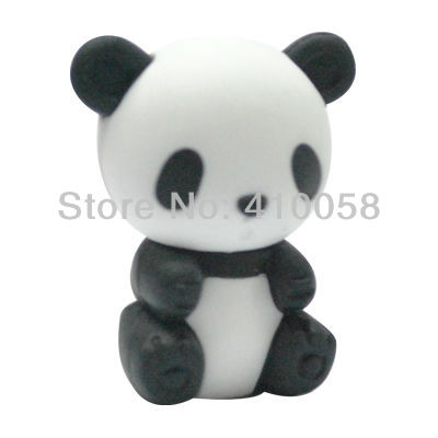 chinese panda eraser super cute for kids and friends freeshipping service LOQ MOQ 20 piecese per lot image