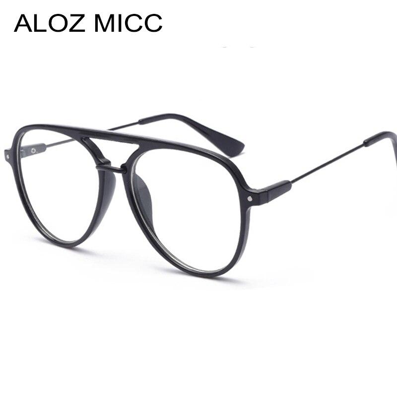 Luxury New Pilot Women Sunglasses Frames Classic Men Optics Eyeglasses 2018 Women Men Optical Acetic Clear Glasses Frame Q352