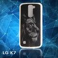 3D Рельеф Тонкий Задняя Крышка Для LG K7 Крышка Мягкий Прозрачный ТПУ чехол Для K7 Телефон Случаях Для LG K7 X210 X210DS MS330 Случае капа