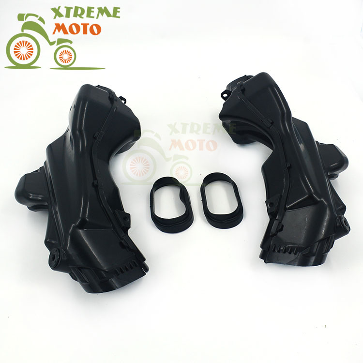Motorcycle Air Intake Tube Duct Cover Fairing For SUZUKI GSXR1000 2007-2008 2007 2008 07 08 new motorcycle ram air intake tube duct for suzuki gsxr600 gsxr750 2006 2007 k6 abs plastic black