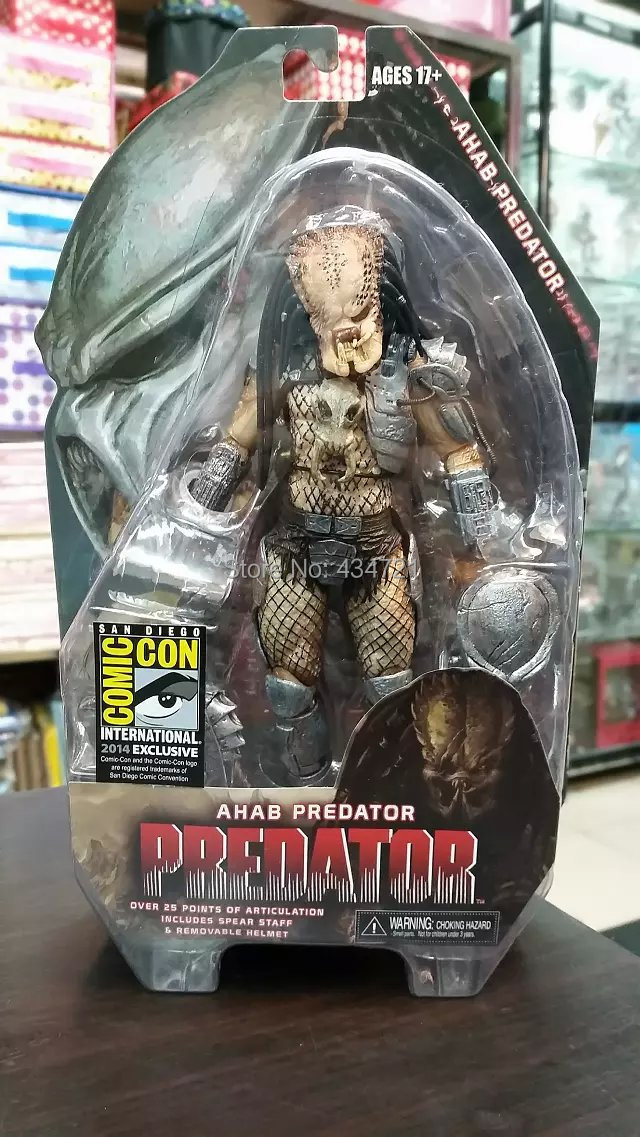 Hot Sale Classic Horror Sci-Fi Movie Predators Ahab Predator Limited Edition NECA Exclusive SDCC 2014 7 Figure Toys New Box image