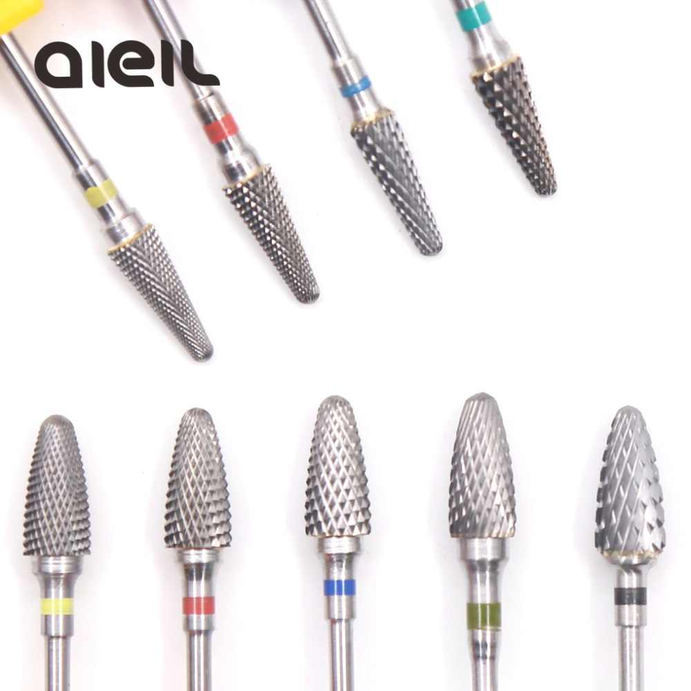 Tungsten Carbide Milling Cutter Burrs Nail Drill Bits Machine Nail Cutter Nail File Manicure For Manicure Nail Art Accessories