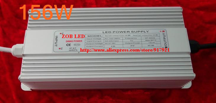156w led driver, DC48V,3.6A,high power led driver for flood light / street light,IP65,constant current drive power supply 90w led driver dc40v 2 7a high power led driver for flood light street light ip65 constant current drive power supply