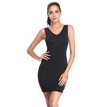 7d00347ec JOYSHAPER Underdress Body Shapers Smooth Full for Women Long Body Shaping  Cami Slip
