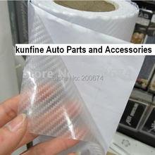Автомобильная пленка прозрачный цвет 3D виниловая наклейка из углеродного волокна 1,27*30 м/рулон KF90005-121