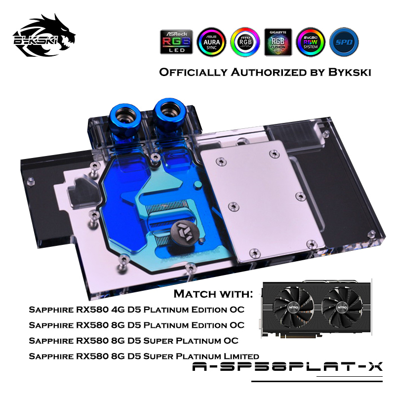 Worldwide delivery rx580 water block in Adapter Of NaBaRa