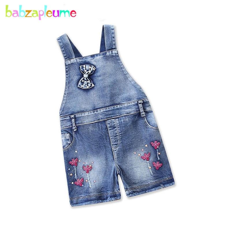 1-6years Sommer Tragen 2018 Neue Arriavl Kinder Kleidung Nette Mädchen Overalls Für Kinder Denim Jeans Kleinkind Overall Bc1399-1 Kaufe Jetzt
