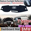 Для BMW серий 7 G11 Противоскользящий коврик  коврик на приборную панель Зонт приборной защиты аксессуары с покрытием 730i 740d 750i 730d 740i 728