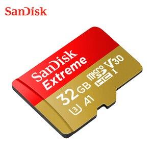 Image 1 - SanDisk Micro carte SD carte mémoire 16GB 32GB 64GB 128GB 256GB 400GB 512GB MicroSD U3 A2 V30 TF carte cartao de mémoire