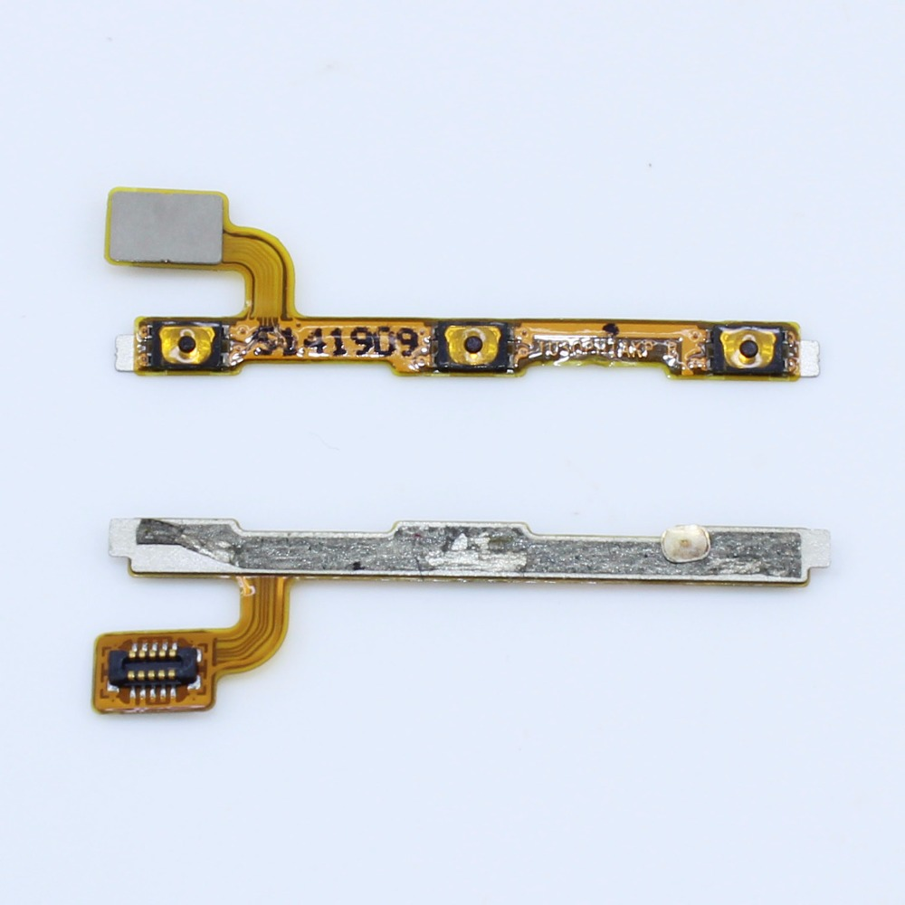 for Huawei Ascend P7 Volume Power ON OFF Button Key Switch Flex Cable Ribbon Replacement Cell Phone Repair Spare Parts WP-182 cell phone brand new repair parts for sony xperia s lt26i backlight back light flex refurbishment replacement