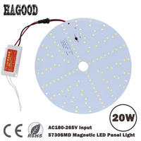 Free Shipping Warm Cold 21W Smd 5730 Led Ceiling Panel Light Led Circular Ceiling LightingLED Lamp