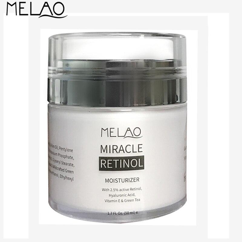 Hidratante e Creme para os Olhos 50g Melao Retinol 2.5% Rosto