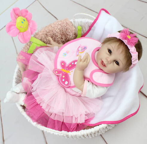 Aliexpress Buy New Silicone Reborn Baby Doll Toys
