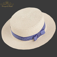 2018 Marka Lato Bownot słomy kapelusz Słońce dla dzieci Plaża Słońce kapelusz filcowy Kapelusz panama? czna dla dziewczyny Dzieci Dzieci Dziecko Hat Hat Cap