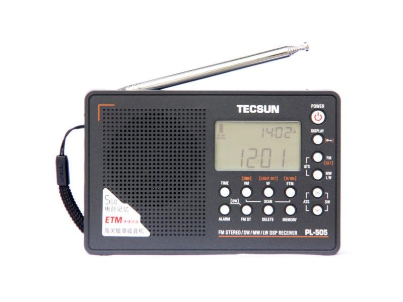 Радио TECSUN pl/505 PLL