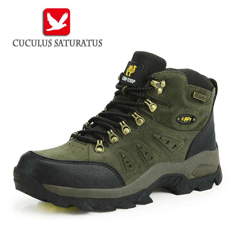 Trekking Shoes Men's Hiking Shoes Anti-skid Mountain Climbing Boots Outdoor Athletic Breathable Men Waterproof 1216 peak sport speed eagle v men basketball shoes cushion 3 revolve tech sneakers breathable damping wear athletic boots eur 40 50